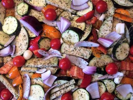 Zdjęcie główne #944 - Pieczone warzywa